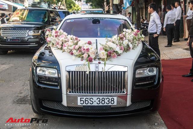 Minh Nhựa ngồi đầu xe Lamborghini Urus dẫn dầu dàn xe hơn 100 tỷ đồng phục vụ đám cưới cô con gái - Ảnh 19.