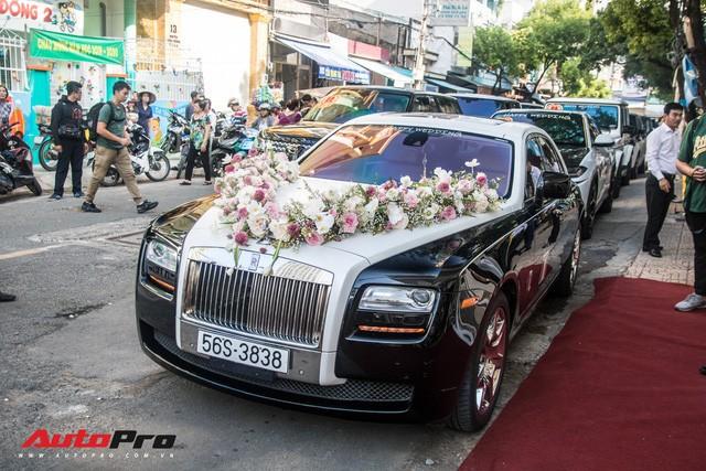 Minh Nhựa ngồi đầu xe Lamborghini Urus dẫn dầu dàn xe hơn 100 tỷ đồng phục vụ đám cưới cô con gái - Ảnh 20.