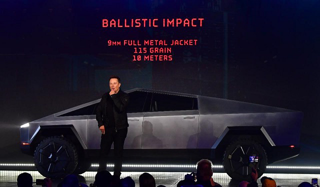 Cybertime - mẫu đồng hồ lấy cảm hứng từ Tesla Cybertruck - Ảnh 1.