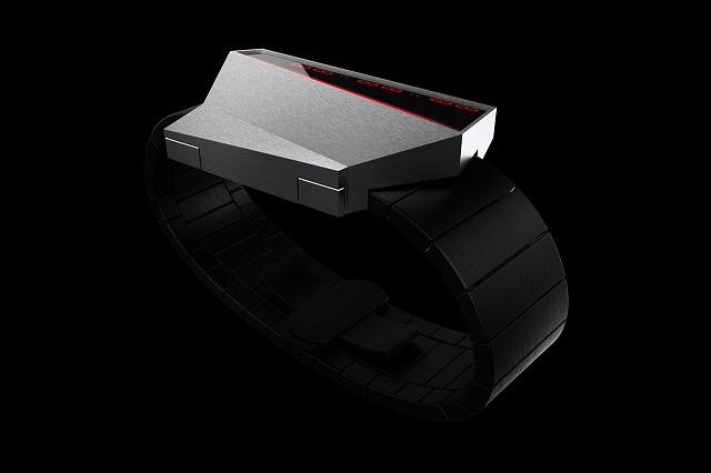 Cybertime - mẫu đồng hồ lấy cảm hứng từ Tesla Cybertruck - Ảnh 2.