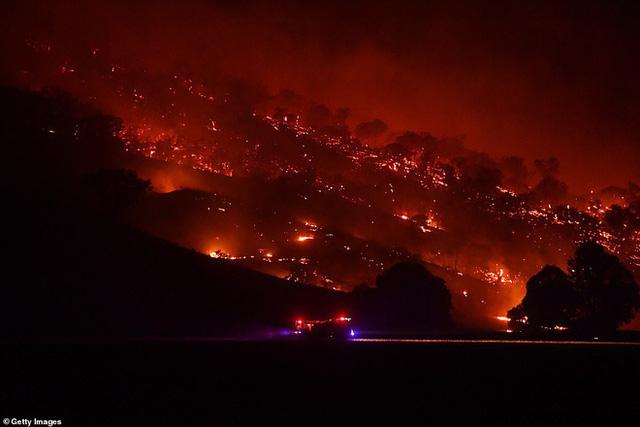 Hỏa Diệm Sơn ở Úc: Đám cháy lớn từ 2 nơi nhập vào nhau tạo thành ngọn lửa khổng lồ thiêu đốt hơn nửa triệu héc ta  - Ảnh 1.