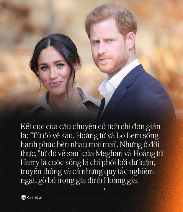 Hoàng tử Harry và Meghan Markle: Chuyện nàng Lọ Lem bước chân vào Hoàng tộc tạo nên bao sóng gió rồi dắt tay Hoàng tử rời bỏ lâu đài - Ảnh 1.