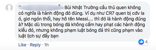 Fan Việt bức xúc với câu hát Bay lên trời là em bay ra ngoài: Phản cảm, nhức đầu, đối thủ chẳng hiểu gì mà lại khiến đội nhà mất tập trung - Ảnh 7.