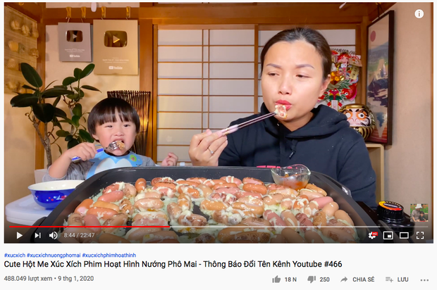 """Sốc: Kênh của Quỳnh Trần JP bị """"ăn gậy"""" Youtube, bé Sa chính thức không còn được xuất hiện trong vlog cùng mẹ từ nay về sau - Ảnh 4."""