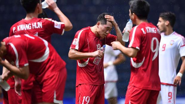 U23 Việt Nam gặp khó trước một Triều Tiên đã bị loại nhưng hiếu thắng - Ảnh 3.