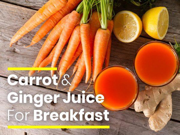 Uống hỗn hợp nước gừng và cà rốt trong đúng một tuần vào buổi sáng, bạn sẽ nhận được lợi ích tuyệt vời - Ảnh 1.