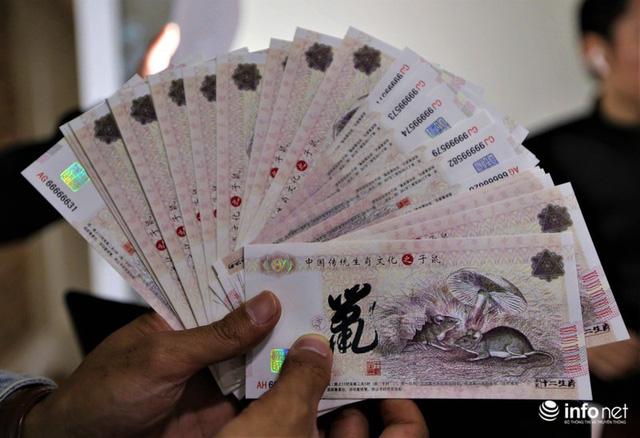 Độc đáo tiền lì xì in hình chuột hút khách trước dịp Tết Nguyên đán Canh Tý - Ảnh 6.