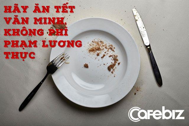 Ăn Tết văn minh: Người Trung Quốc đang phí phạm hàng chục triệu tấn lương thực mỗi dịp Tết vì bị đổ đi lấy may - Ảnh 2.