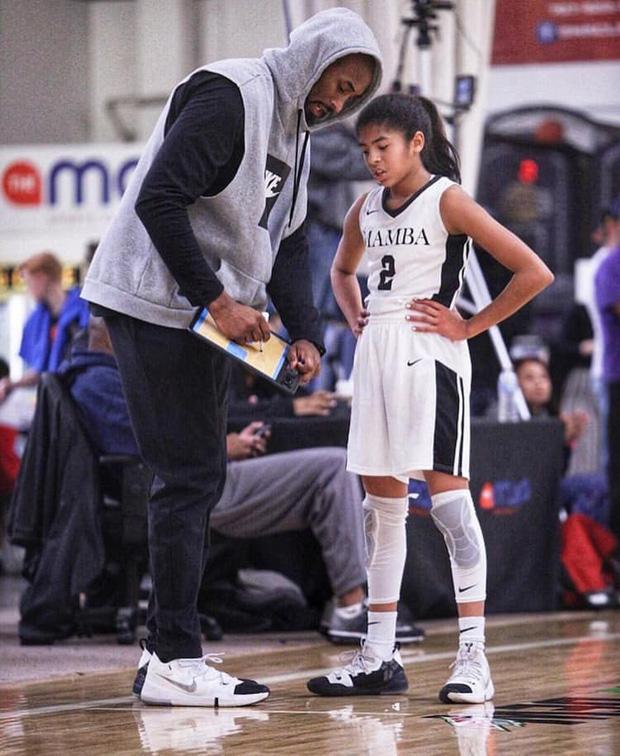 Gianna Maria-Onore Bryant: Cô gái bé bỏng cùng ước mơ kế tục di sản Black Mamba của huyền thoại bóng rổ Kobe Bryant - Ảnh 1.
