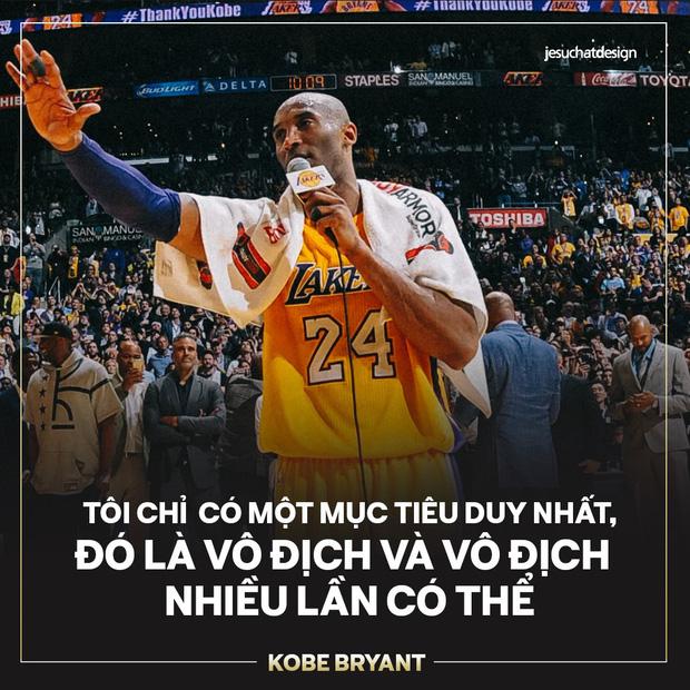 Ra đi ở tuổi 41 sau tai nạn trực thăng thảm khốc, đây là 5 câu nói truyền cảm hứng nhất mà huyền thoại Kobe Bryant gửi lại thế giới - Ảnh 1.