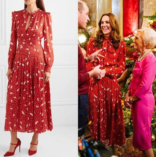 Đẳng cấp thời trang của Công nương Kate: Váy áo mua về đều chỉnh sửa cực khéo, có khi đẹp hơn bản gốc mà chẳng ai nhận ra - Ảnh 1.