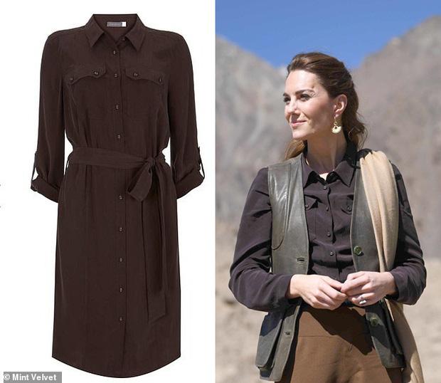 Đẳng cấp thời trang của Công nương Kate: Váy áo mua về đều chỉnh sửa cực khéo, có khi đẹp hơn bản gốc mà chẳng ai nhận ra - Ảnh 2.