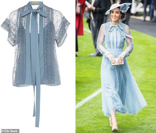Đẳng cấp thời trang của Công nương Kate: Váy áo mua về đều chỉnh sửa cực khéo, có khi đẹp hơn bản gốc mà chẳng ai nhận ra - Ảnh 3.