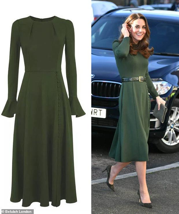 Đẳng cấp thời trang của Công nương Kate: Váy áo mua về đều chỉnh sửa cực khéo, có khi đẹp hơn bản gốc mà chẳng ai nhận ra - Ảnh 4.