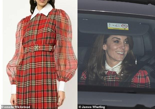 Đẳng cấp thời trang của Công nương Kate: Váy áo mua về đều chỉnh sửa cực khéo, có khi đẹp hơn bản gốc mà chẳng ai nhận ra - Ảnh 5.