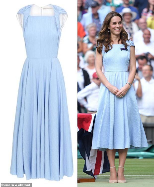 Đẳng cấp thời trang của Công nương Kate: Váy áo mua về đều chỉnh sửa cực khéo, có khi đẹp hơn bản gốc mà chẳng ai nhận ra - Ảnh 6.