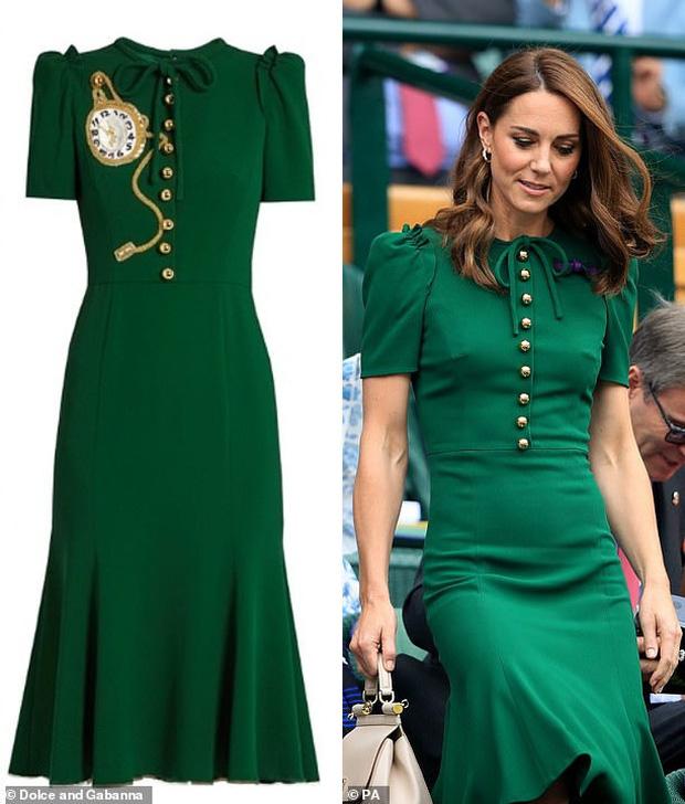 Đẳng cấp thời trang của Công nương Kate: Váy áo mua về đều chỉnh sửa cực khéo, có khi đẹp hơn bản gốc mà chẳng ai nhận ra - Ảnh 7.