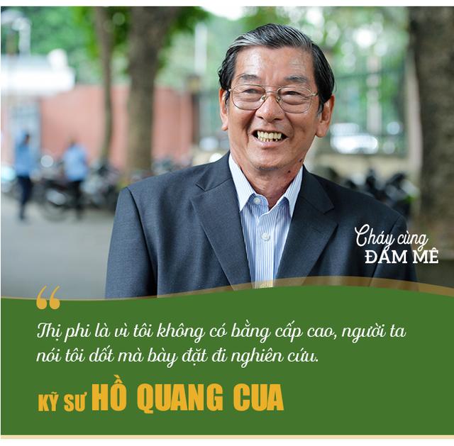 Kỹ sư Hồ Quang Cua - Cha đẻ của giống gạo ngon nhất thế giới: Ban đầu mình tính làm chơi thôi! - Ảnh 5.