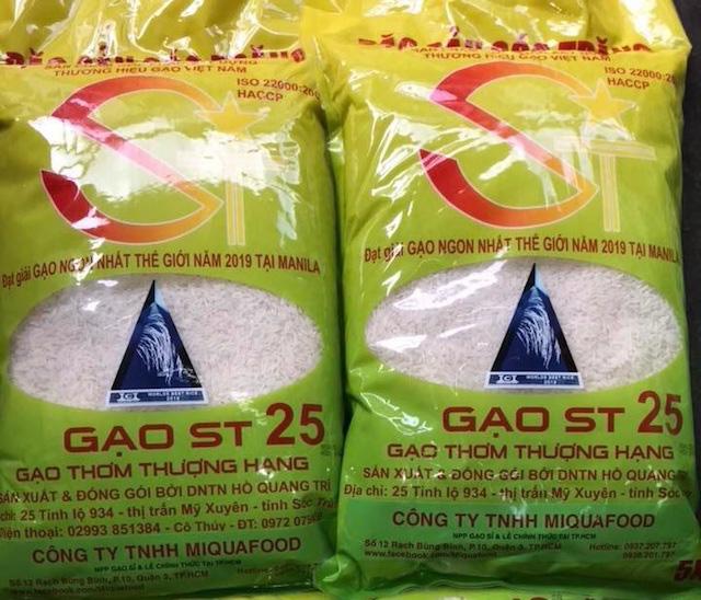 Gạo ngon nhất thế giới ST25 khan hàng trước Tết - Ảnh 1.