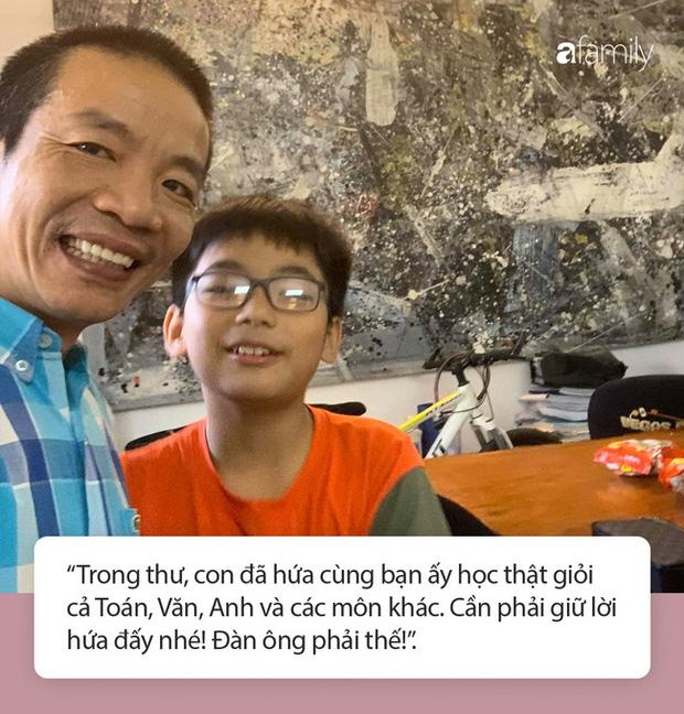 Thư tay xịn xò của nhạc sĩ Nguyễn Vĩnh Tiến gửi con trai với nét chữ đẹp gây thương nhớ, đọc nội dung còn khiến người ta trầm trồ hơn - Ảnh 3.
