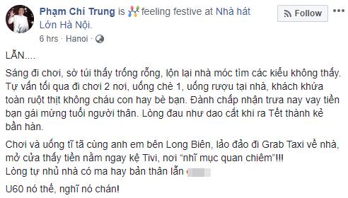 NSƯT Chí Trung thừa nhận bản thân đã già và lẫn tới mức phải đi vay tiền bạn gái kém tuổi để mừng tuổi người thân - Ảnh 1.