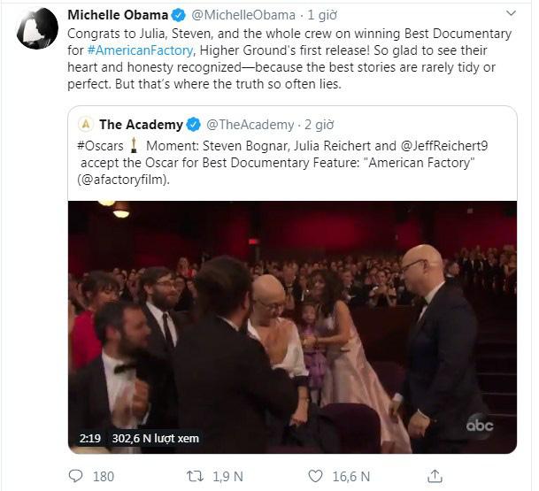 Phim tài liệu sản xuất bởi vợ chồng Barack Obama bất ngờ giành tượng vàng Oscar, giúp vị cựu Tổng thống lập kỷ lục chưa từng có  - Ảnh 4.