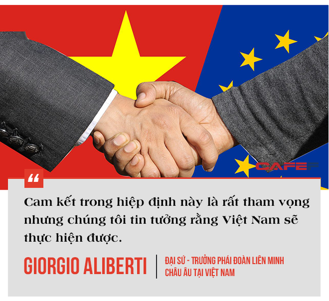 Trưởng phái đoàn EU tại Việt Nam: EVFTA là bệ phóng đưa Việt Nam tham gia sâu vào chuỗi cung ứng toàn cầu, có thể tăng lượng xuất khẩu vào EU thêm 15 tỷ EUR - Ảnh 4.
