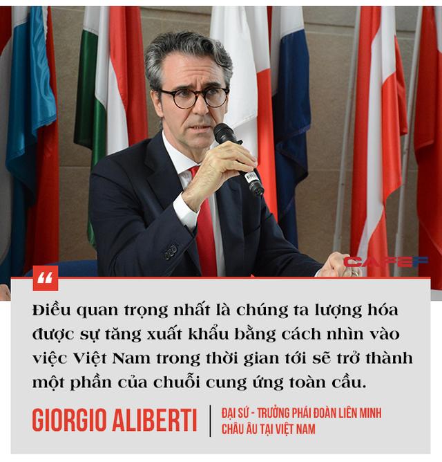 Trưởng phái đoàn EU tại Việt Nam: EVFTA là bệ phóng đưa Việt Nam tham gia sâu vào chuỗi cung ứng toàn cầu, có thể tăng lượng xuất khẩu vào EU thêm 15 tỷ EUR - Ảnh 6.