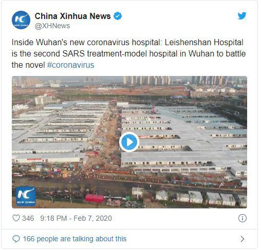 Báo chí phương Tây nghi ngờ hiệu suất thực sự của 2 bệnh viện dã chiến chống corona ở Trung Quốc - Ảnh 2.