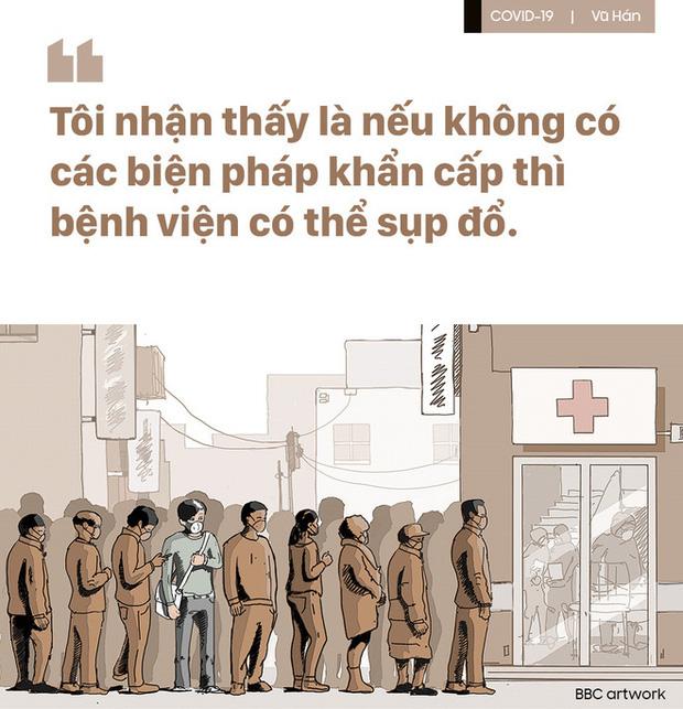 Chuyện đau lòng vì thiếu vật tư y tế ở Vũ Hán: Bệnh nhân khẩn cầu, bác sĩ bất lực nhìn sự sống trôi dần - Ảnh 3.