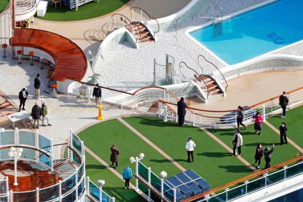 Du thuyền Diamond Princess: Xét nghiệm 1200 người có 355 ca nhiễm, tỉ lệ gần 30% chỉ từ 1 nguồn duy nhất - Tại sao cách ly rồi mà lây nhiễm nhiều như vậy? - Ảnh 3.