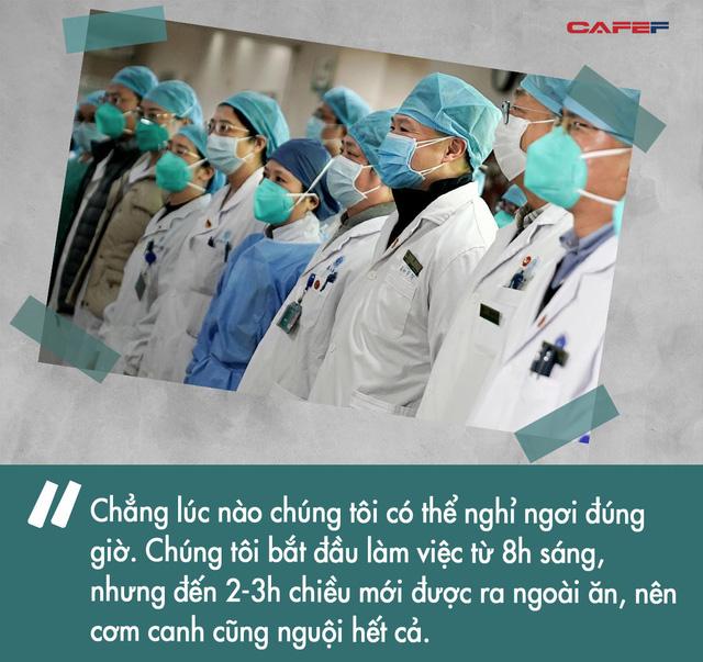 10 ngày chiến đấu sống còn với virus corona của nữ y tá giữa tâm dịch Vũ Hán: Làm quần quật 8 tiếng không kịp ăn bữa cơm, đau đớn nhìn từng đồng nghiệp gục ngã - Ảnh 2.