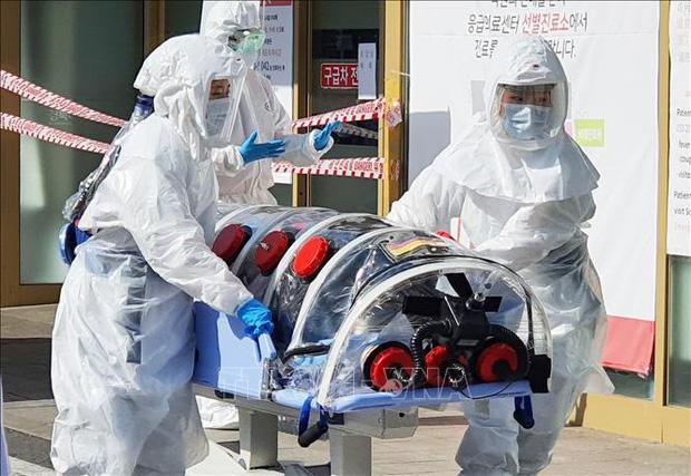 Thêm 142 ca nhiễm COVID-19 mới công bố sáng 22/2 tại Hàn Quốc - Ảnh 1.