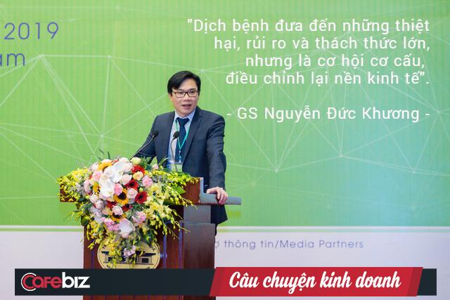 GS. Nguyễn Đức Khương: Dịch bệnh đưa đến những thiệt hại, rủi ro và thách thức lớn, nhưng là cơ hội cơ cấu, điều chỉnh lại nền kinh tế - Ảnh 2.