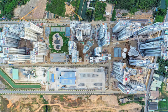 Toàn cảnh công trường đại đô thị 271 ha của Vinhomes tại TP HCM - Ảnh 3.