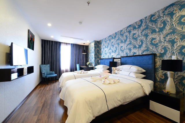 Cận cảnh khách sạn cho nhân viên nghỉ việc 4 tháng, trợ cấp 1,5 triệu đồng/người/tháng, lương sếp cũng như nhân viên vì Covid-19 - Ảnh 9.