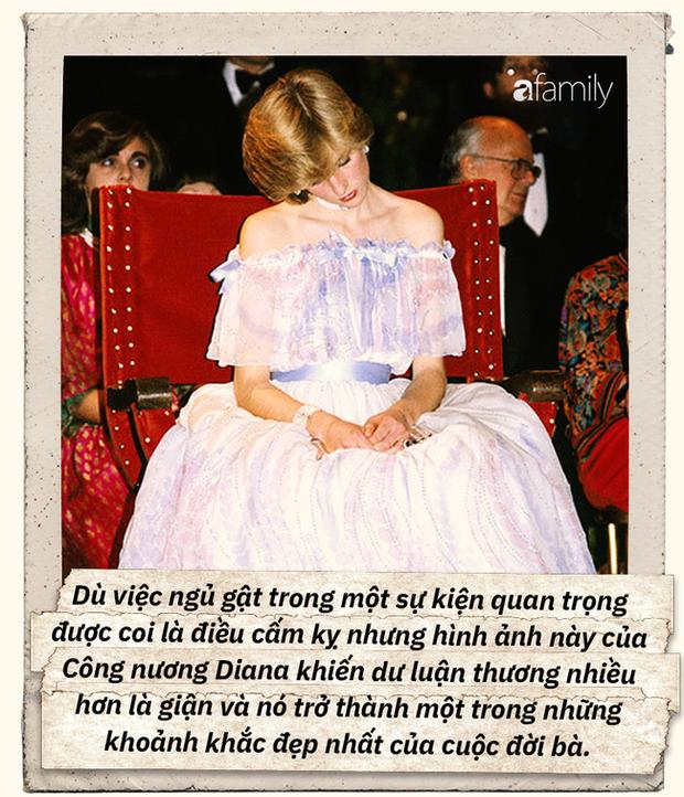 """Bức ảnh ngủ gật nổi tiếng của Công nương Diana: Đằng sau hình ảnh """"người đẹp ngủ trong rừng"""" là nỗi lòng không phải ai cũng hiểu - Ảnh 3."""