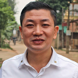 Lê Xuân Tráng: Từ cậu bé chưa học hết lớp 6, đi nhặt rác, rửa bát thuê đến ông chủ doanh nghiệp may Bắc Giang - Ảnh 1.