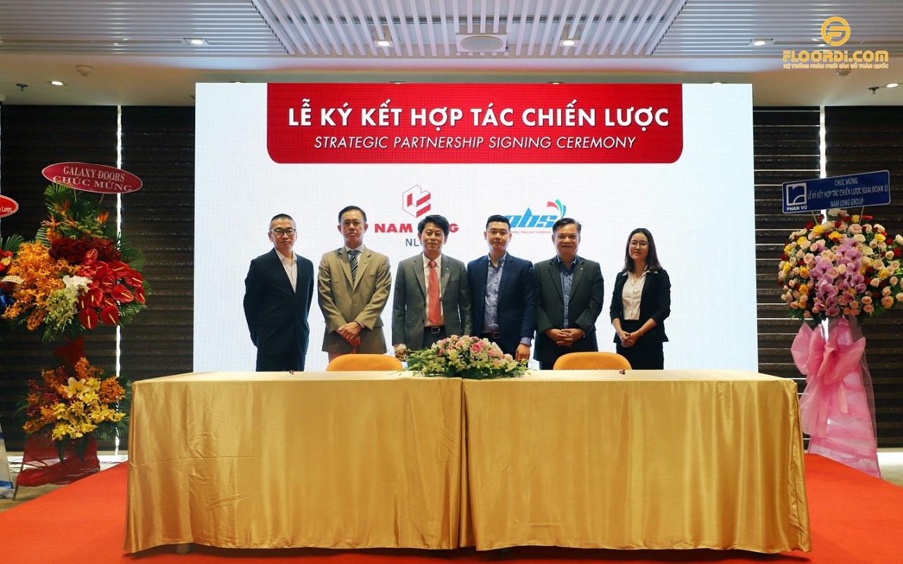 Tập đoàn Nam Long và Sàn gỗ PBS ký kết hợp tác chiến lược