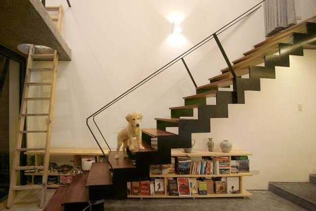 Ngôi nhà 40 m2 tối giản khác biệt trong căn hẻm nhỏ Hà Nội - Ảnh 6.