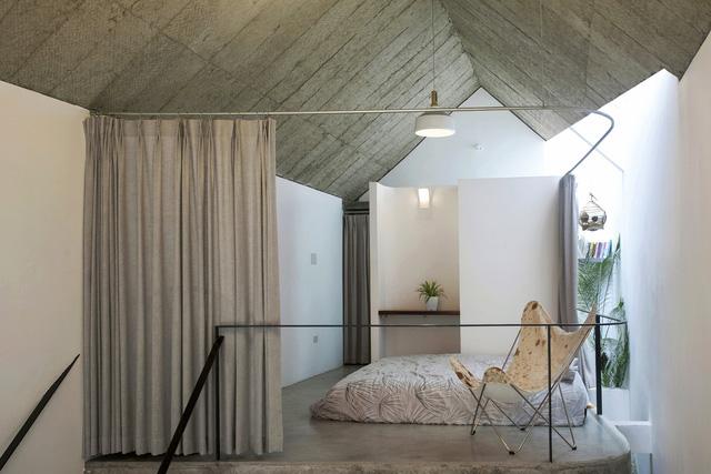 Ngôi nhà 40 m2 tối giản khác biệt trong căn hẻm nhỏ Hà Nội - Ảnh 9.