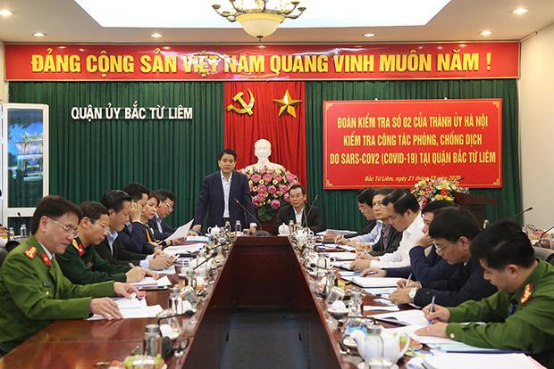 Chủ tịch Hà Nội: 2 tuần tới là thời gian quyết định Việt Nam và Hà Nội có bị dịch hay không - Ảnh 1.