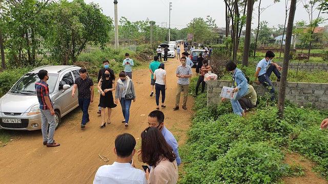 Đất Thạch Thất, Hà Nội lên cơn sốt ảo, giá tăng 3 lần sau 20 ngày - Ảnh 3.