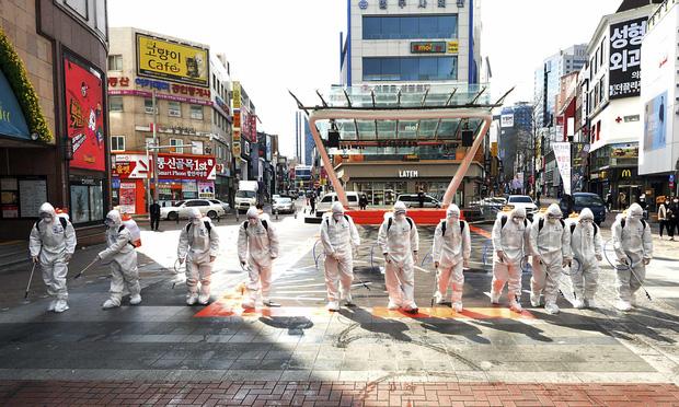 Hàn Quốc có ca tử vong thứ 29, thêm 600 người nhiễm mới virus corona, số ca mắc bệnh đã vượt 4800 - Ảnh 2.