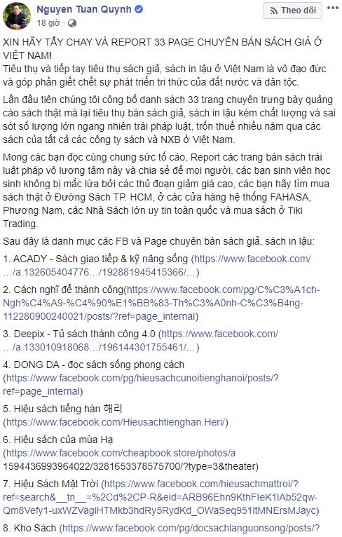 First News, Alpha Books vạch trần 45 fanpage chuyên bán sách giả ở Việt Nam: Có cuốn sách lấy lợi nhuận để mổ tim miễn phí cho trẻ em nghèo nhưng bị tới 5 nơi in lậu, làm giả - Ảnh 1.
