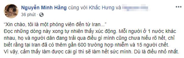 Ghen Cô Vy quá hot: Min chia sẻ email phóng viên người Iran xin phép được chuyển ngữ để thông tin đến trẻ em toàn thế giới! - Ảnh 1.