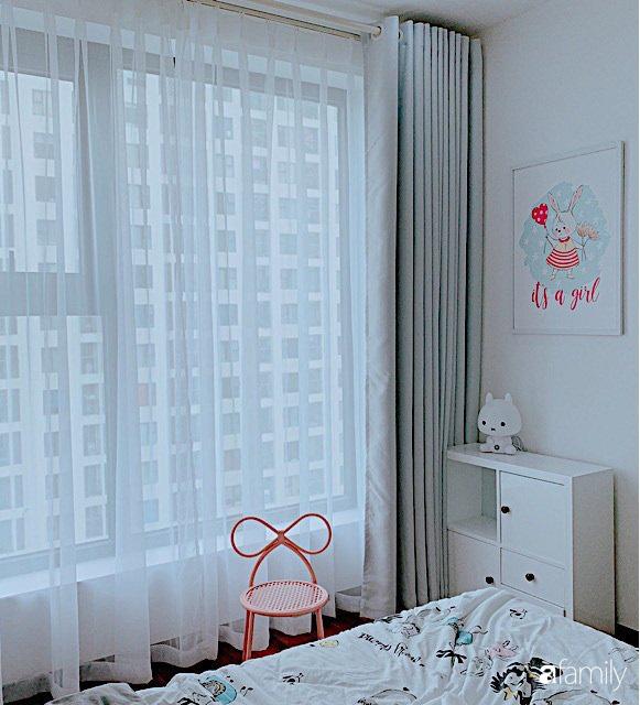 Căn hộ 90m² như được nhân đôi không gian nhờ cách decor khéo léo với sắc trắng ở Hà Nội - Ảnh 20.