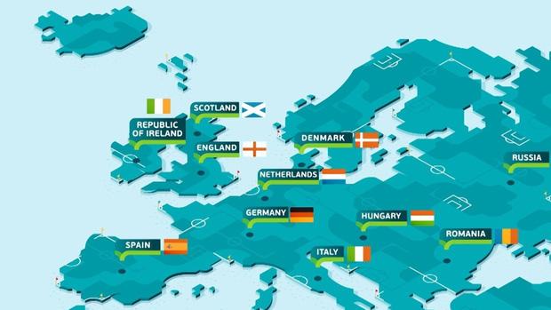 Trước sự lây lan của virus Corona, kịch bản nào cho Euro 2020? - Ảnh 1.