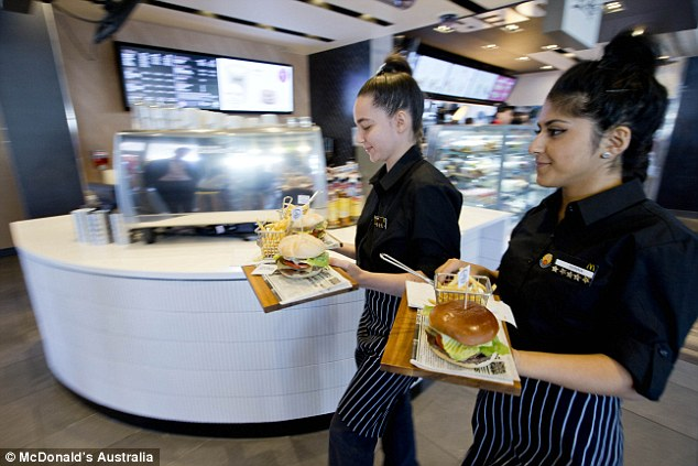The new create your own gourmet burgers will offer 19 different fillings served on wooden platters with a side of fries in a basket