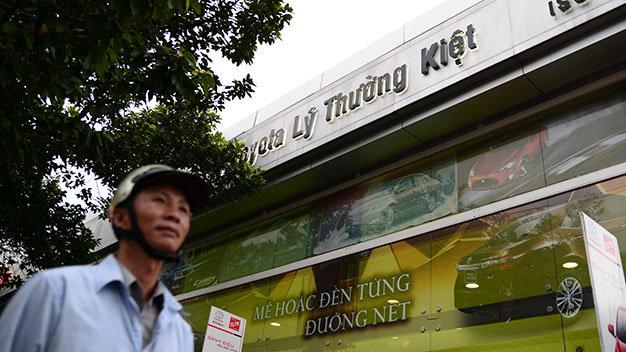 Theo thông tư của Bộ VH-TT&DL, doanh nghiệp không được lấy tên danh nhân Lý Thường Kiệt như thế này - Ảnh: Hữu Khoa